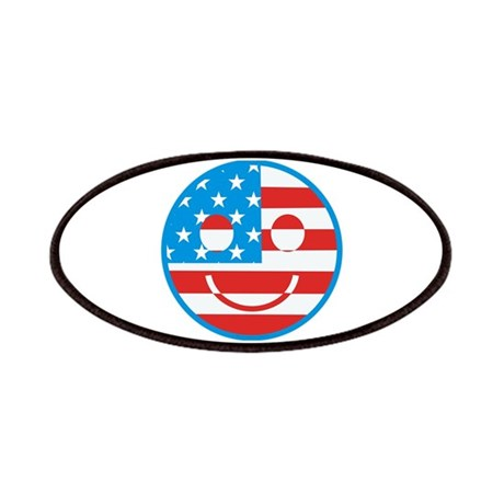 USA Happy Face Patches