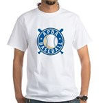 New APBA Baseball Logo White T-Shirt