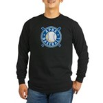 New APBA Baseball Logo Long Sleeve Dark T-Shirt
