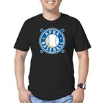 New APBA Baseball Logo Men's Fitted T-Shirt (dark)