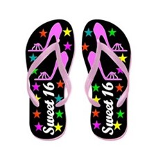 16 AND AWESOME Flip Flops
