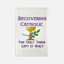 Recovering Catholic Rectangle Magnet
