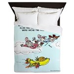 Fruited Plane Queen Duvet
