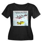 Fruited Plane Plus Size T-Shirt