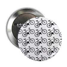 """Bicycle Pattern 2.25"""" Button"""
