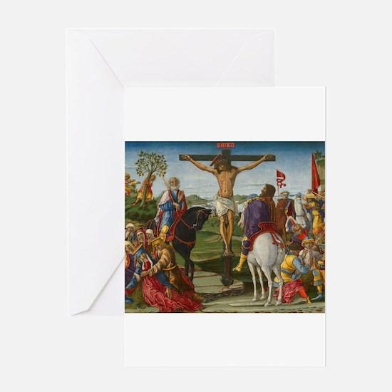 Benvenuto di Giovanni - The Crucifixion Greeting C