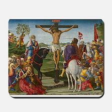Benvenuto di Giovanni - The Crucifixion Mousepad