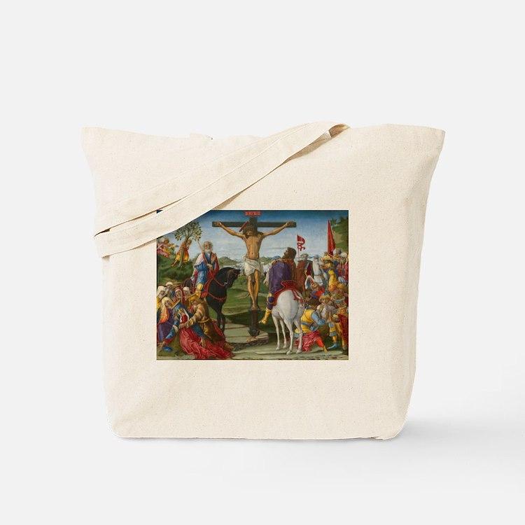Benvenuto di Giovanni - The Crucifixion Tote Bag