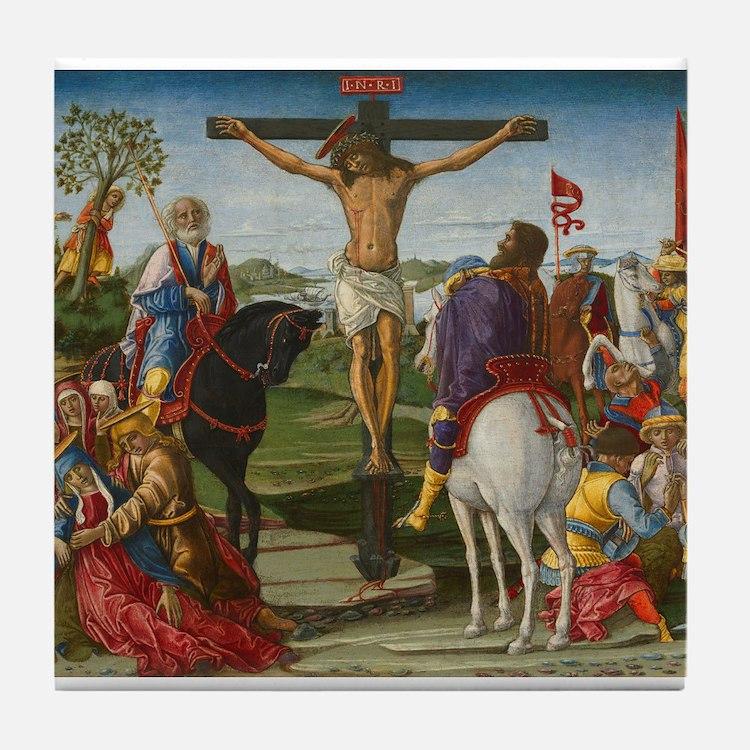 Benvenuto di Giovanni - The Crucifixion Tile Coast
