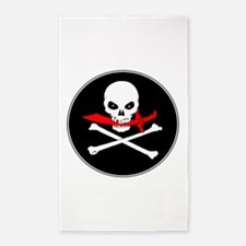 Jolly Roger (Cutlass) 3'x5' Area Rug
