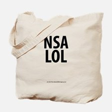NSA LOL Tote Bag