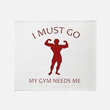 I Must Go. My Gym Needs Me. Stadium Blanket