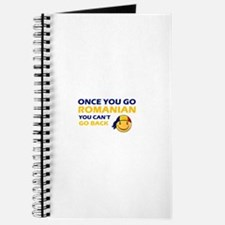 Funny Romanian flag designs Journal