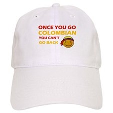 Funny Colombian flag designs Baseball Cap