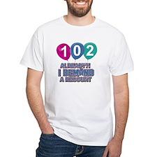 102 year old ballon designs Shirt