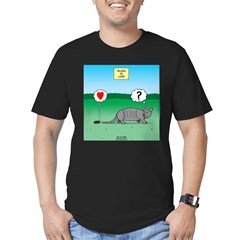 Pill Bug and Armadillo Men's Fitted T-Shirt (dark)