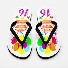 FABULOUS 16TH Flip Flops