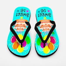 FANTASTIC 16TH Flip Flops