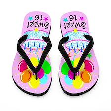 SWEET SIXTEEN Flip Flops