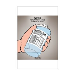 Water Nutritional Value Posters