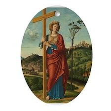 Cima da Conegliano - Saint Helena Ornament (Oval)