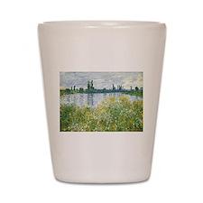 Claude Monet - Banks of the Seine Shot Glass