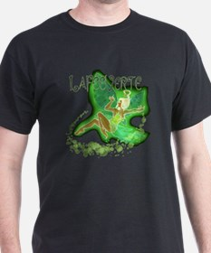 Dark Green Fairy Flying T-Shirt