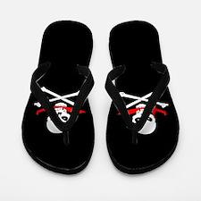 Jolly Roger (Cutlass) Flip Flops