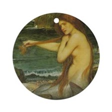 The Mermaid Ornament (Round)