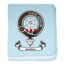 Badge - Jardine baby blanket