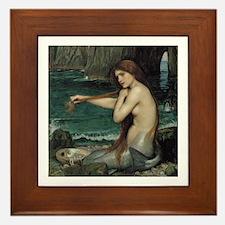The Mermaid Framed Tile