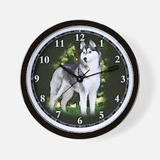 husky_clock Wall Clock