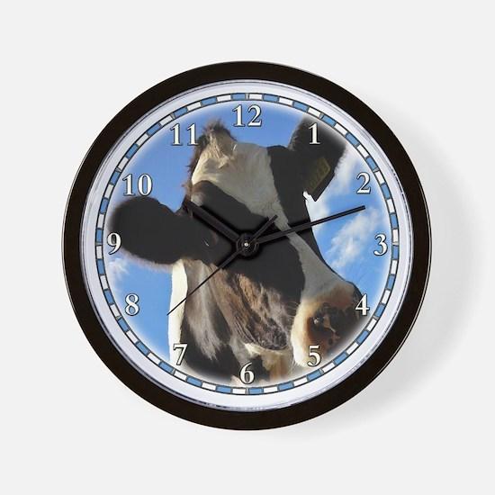 cow-clock Wall Clock