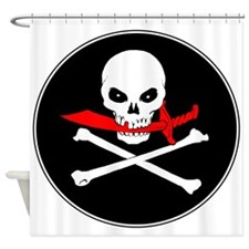 Jolly Roger (Cutlass) Shower Curtain