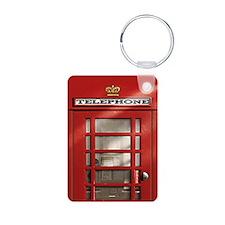 British Red Telephone Box Keychains