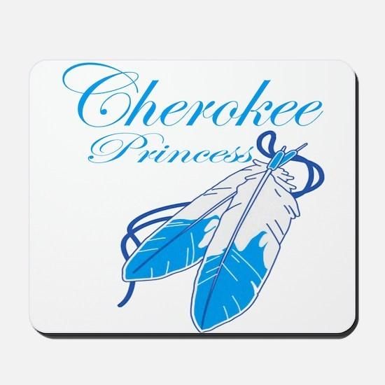 Turquoise Cherokee Princess Mousepad