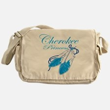 Turquoise Cherokee Princess Messenger Bag
