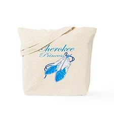 Turquoise Cherokee Princess Tote Bag