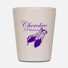 Purple Cherokee Princess Shot Glass