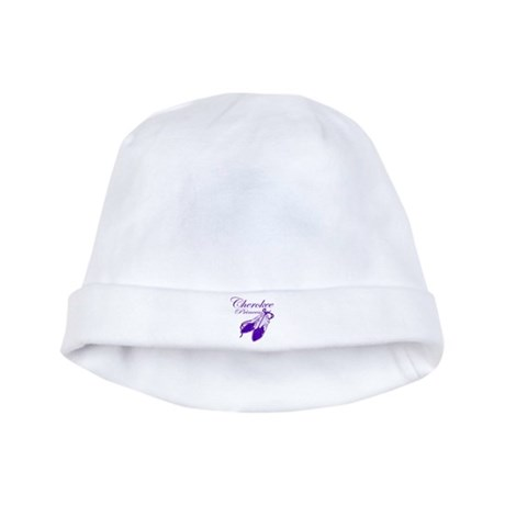 Purple Cherokee Princess baby hat
