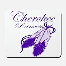 Purple Cherokee Princess Mousepad