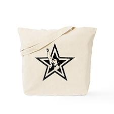 Woman Power Star Tote Bag