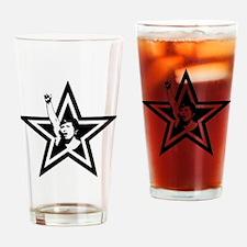 Woman Power Star Drinking Glass