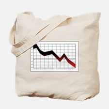 Business Graph Tote Bag