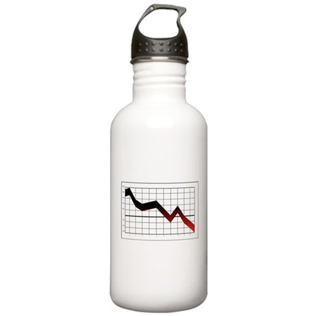 Business Graph Water Bottle