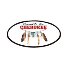 Proud to be Cherokee Patches