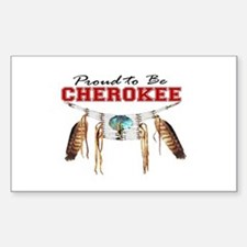 Proud to be Cherokee Decal