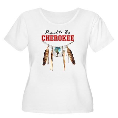 Proud to be Cherokee Women's Plus Size Scoop Neck