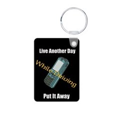 Live Another Day Keychains