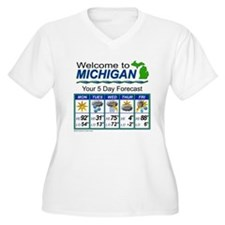 MIweather Plus Size T-Shirt